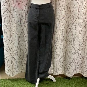 Isaac Mizrahi trouser pants in grey denim
